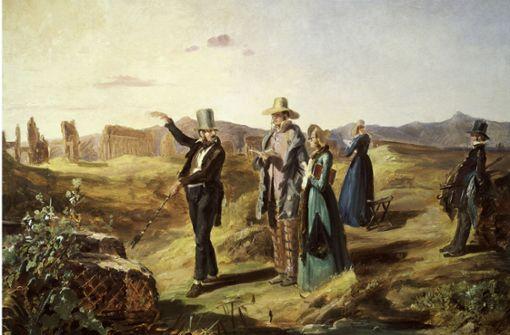 Spitzwegs Bild von Engländern in der Campagna – womöglich stellt sich die grüne Stadträtin Elfriede Steinwand Reisen des Ludwigsburger Gemeinderats ähnlich niveauvoll vor. Foto: akg-images