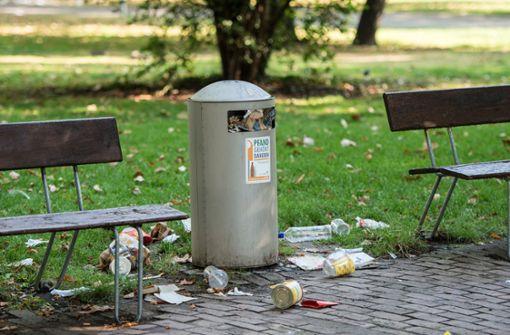 So will Backnang Müllsünder packen