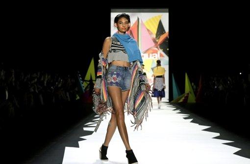 Modewoche startet farbenfroh