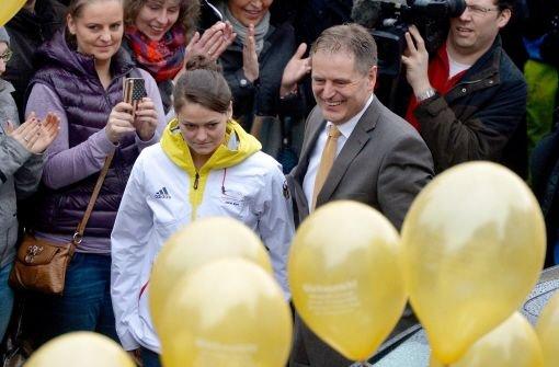 Schwäbisch Gmünd feiert Goldmedaille