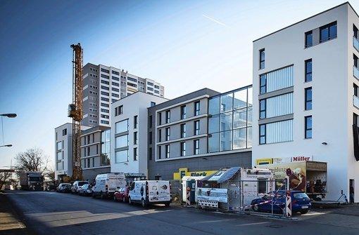 Am kommenden Mittwoch öffnen die Läden am Europaplatz auf dem Fasanenhof Foto: Lichtgut/Achim Zweygarth