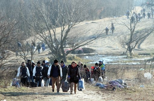 Die Balkanroute ist für Flüchtlinge momentan weitgehend abgeriegelt. (Symbolbild) Foto: dpa