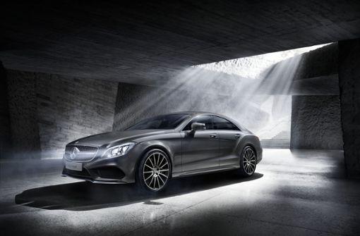 In Sindelfingen wird sowohl der CLS Coupé als auch ...  Foto: MediaPortal Daimler AG