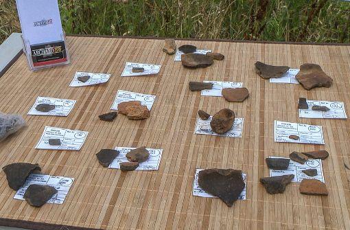 Relikte aus der Bronzezeit im Neubaugebiet