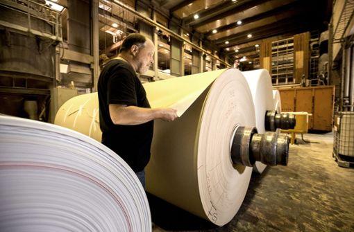 Papierfabrik Scheufelen kämpft gegen die Zeit