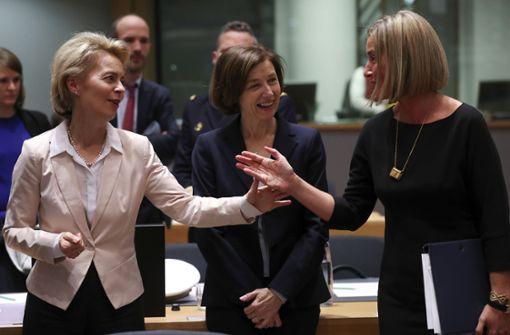 EU-Staaten weiten militärische Zusammenarbeit aus