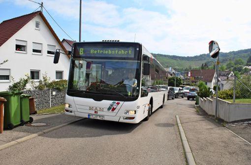 Umleitung der Buslinie Thema im Bezirksbeirat