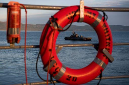 Norwegische Fregatte kollidiert mit Tanker