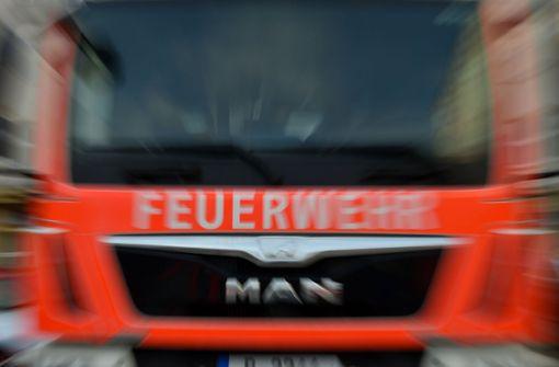 Feuer zerstört Einfamilienhaus in Bühl
