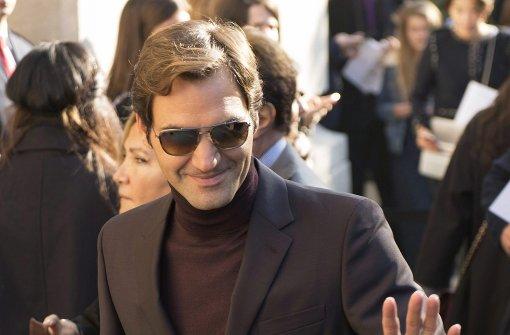 Schokofreund Roger Federer
