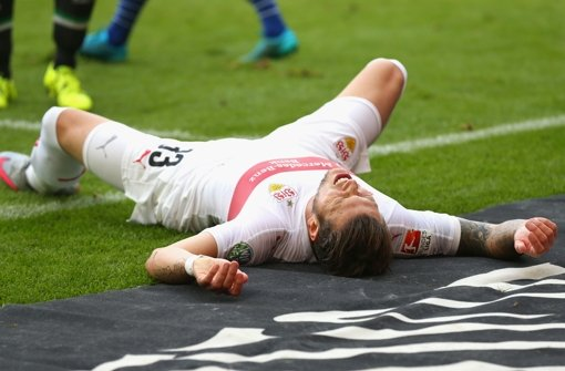 Wann kann Daniel Ginczek wieder für den VfB Stuttgart spielen? Foto: Bongarts
