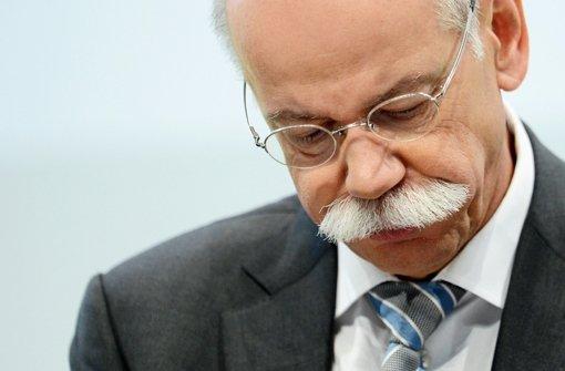 Die Daimler-Betriebsräte wollten eine Vertragsverlängerung für Vorstandschef Dieter Zetsche zunächst verhindern. Foto: dpa