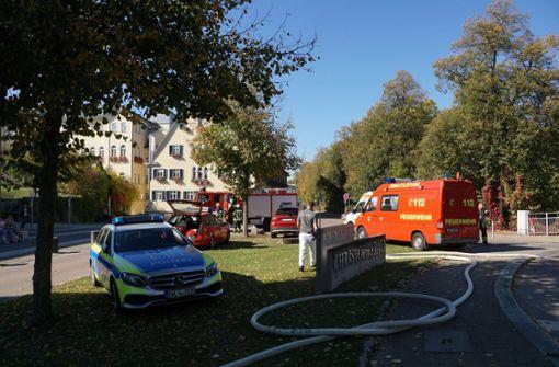 Patient setzt Bettwäsche in Brand – Zwei Pflegerinnen verletzt