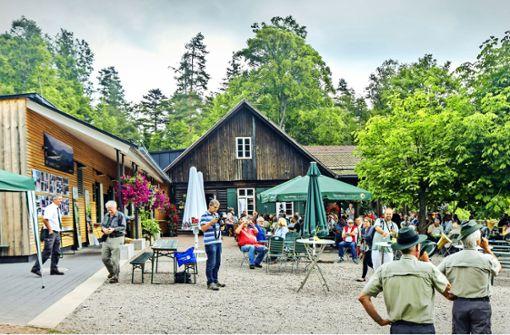 Die Grünhütte – ein teures Kleinod im Wald