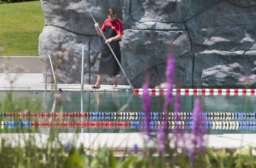 Bakterien sind  weg  – Naturbad öffnet wieder