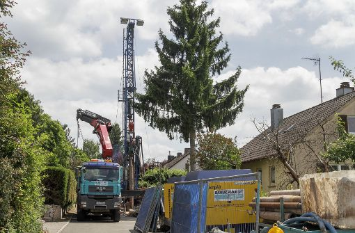 Bohrfirma Gungl hat falschen Zement verfüllt