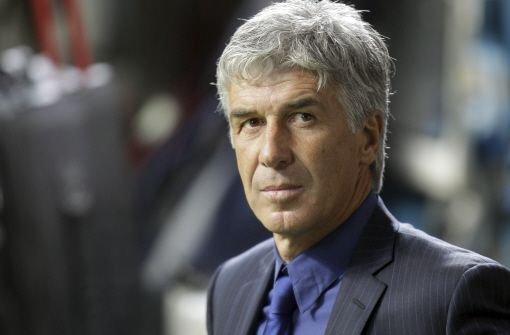 Mailands Trainer Gasperini vor Aus