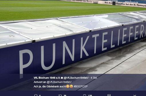 VfL Bochum provoziert mit frecher Gästebank
