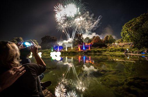 Impressionen vom Stuttgarter Lichterfest. Foto: Lichtgut/Julian Rettig