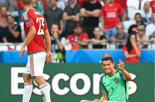 Ronaldo rettet Portugal vor EM-Aus