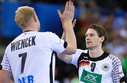 Deutsche Handballer im Achtelfinale