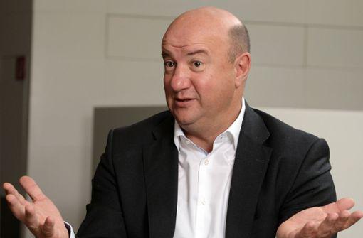 Daimler-Betriebsratschef Michael Brecht. Foto: dpa