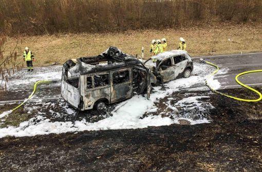 B 312 noch gesperrt – Gutachter untersucht Unfallstelle