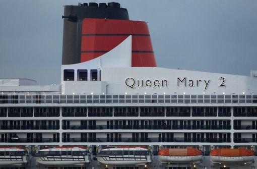 """Durchfall und Übelkeit auf """"Queen Mary 2"""""""