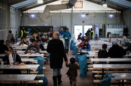 Flüchtlinge kommen auch zum Jahreswechsel