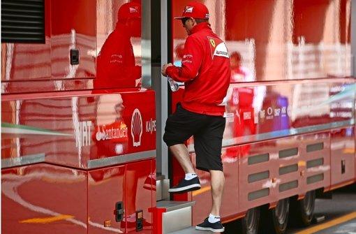 Ferrari und Räikkönen: keine Liebe