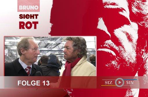 Bruno sieht rot: Mit Schuster auf dem Eis