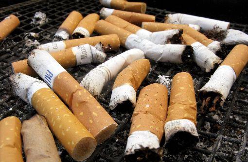 Rauchen schadet auch der Umwelt