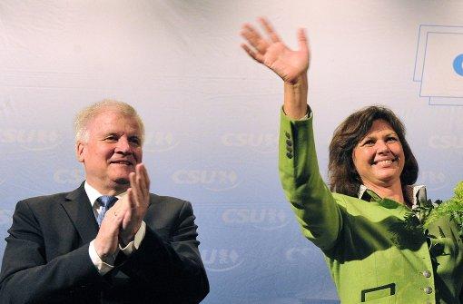 Aigner glaubt an Parteichef Seehofer als Zugpferd