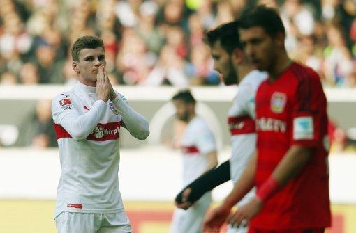 Timo Werner lässt seine Zukunft beim VfB offen Foto: Getty