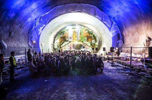 Außergewöhnlich: die Kriminacht im  Kriegsbergtunnel Foto: Lichtgut/Julian Rettig