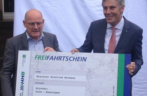 Grünes Licht für die Hermann-Hesse-Bahn