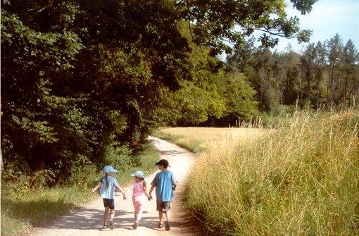 Diese Wanderung eignet sich auch gut für Kinder Foto: dpa
