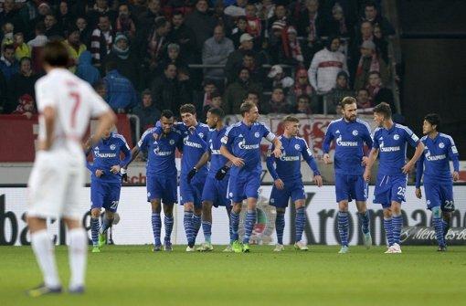 Der VfB Stuttgart musste sich am Samstagnachmittag dem FC Schalke 04 mit 0:4 geschlagen geben.  Foto: dpa