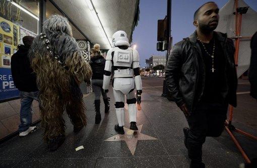 Chewbacca & Co. machen Hollywood unsicher