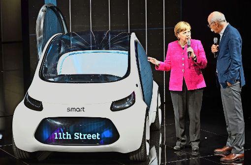 Merkel spricht nicht mehr von Betrug