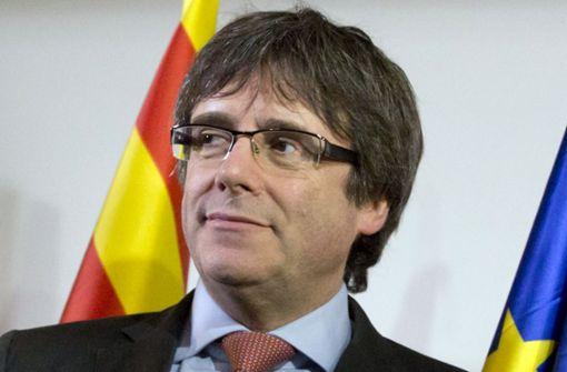 Puigdemont legt Widerspruch gegen Vorwurf der Rebellion