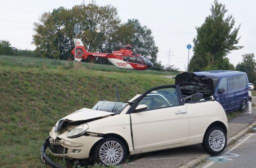 Am Freitagabend kommt es zu einem Unfall auf der K 1059. Foto: SDMG