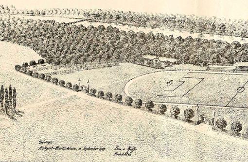 Der am 21. Dezember 1919 eingeweihte VfB-Platz auf dem Cannstatter Wasen. Foto: VfB