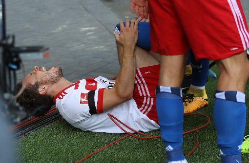 Nicolai Müller verletzt sich beim Torjubel