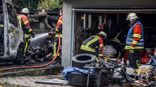 Feuer richtet einen Schaden von 80 000 Euro an