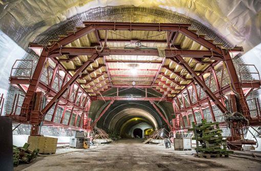 Aussicht in den Kriegsbergtunnel. Foto: Lichtgut/Julian Rettig