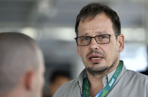 ARD-Dopingexperte Hajo Seppelt hat seine geplante Reise zur Fußball-WM in Russland abgesagt. Foto: AFP