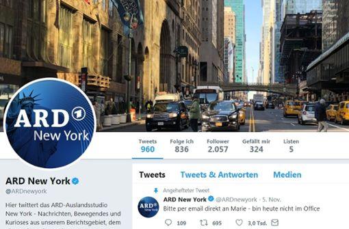 Tweet der ARD entwickelt ein Eigenleben