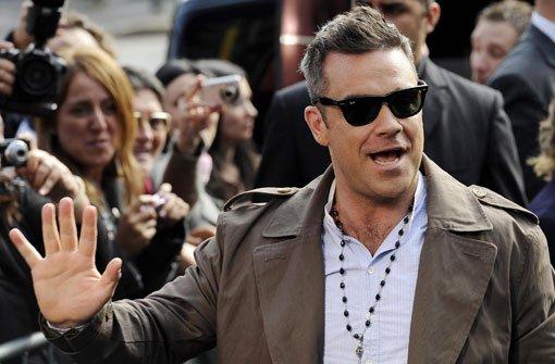 Robbie Williams zum Mitschnippen