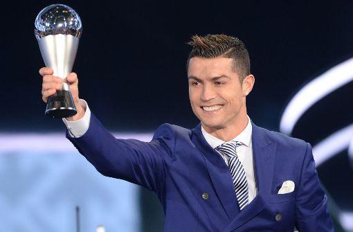Ronaldo zum vierten Mal als Weltfußballer gekrönt